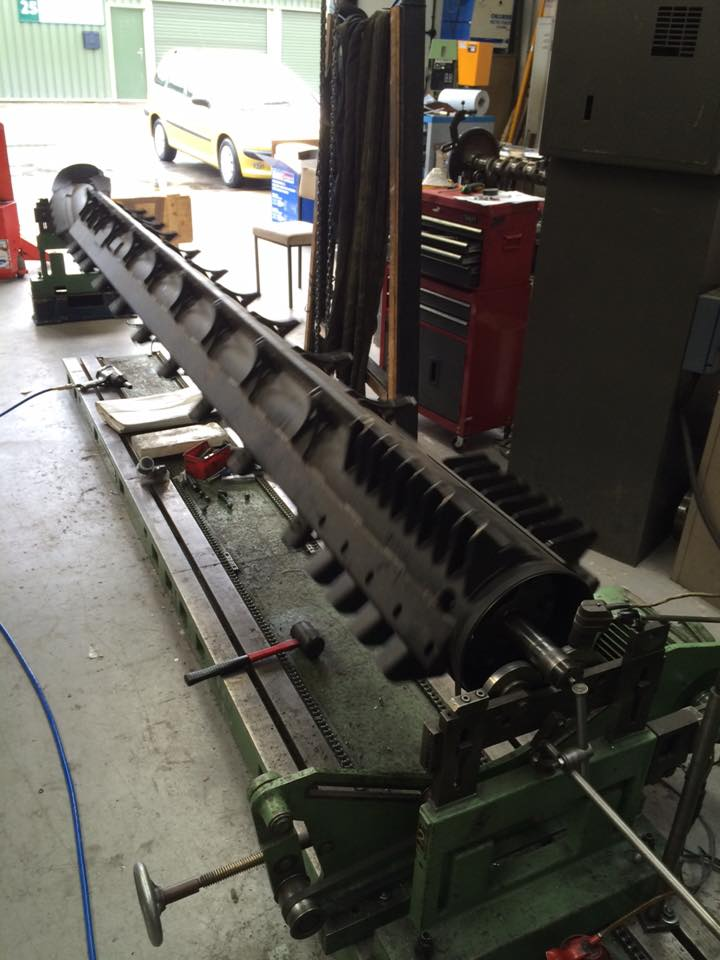 Combine Harvester Rotor balance