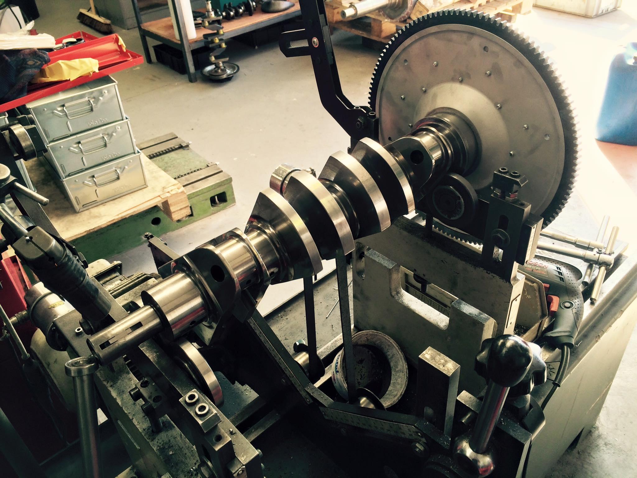 Crank assembly balance 1